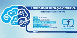 I SIMPÓSIO DE INICIAÇÃO CIENTÍFICA